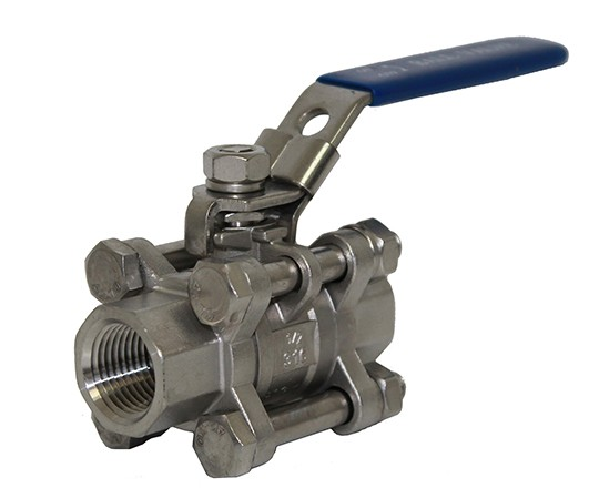 3 Piece Ball Valves