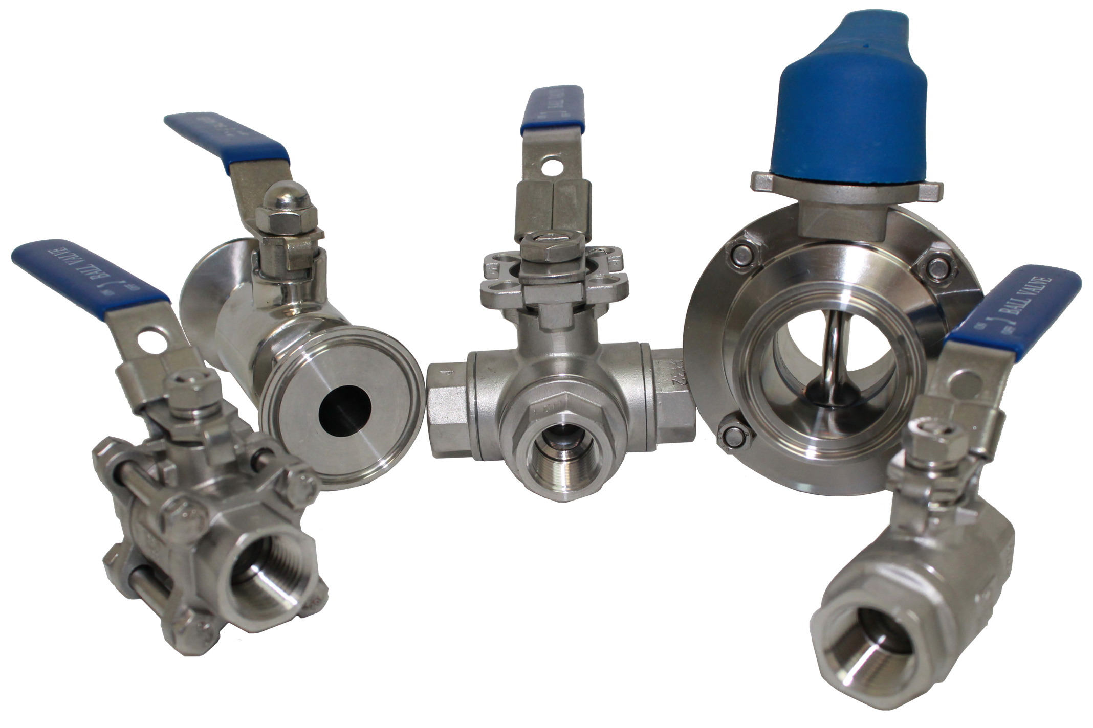 "1/2"" Stainless Ball Valve"